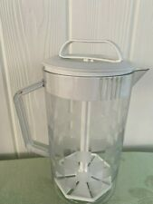New listing Pampered Chef 2 Quart Quick-Stir Pitcher Checkerboard Pattern With White Lid