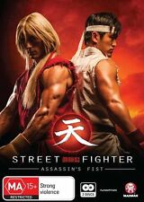 Street Fighter - Assassin's Fist (DVD, 2014, 2-Disc Set) Brand New & Sealed R4