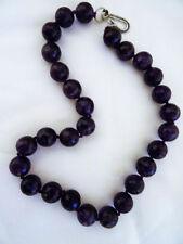 Unbranded Amethyst Strand/String Fine Necklaces & Pendants