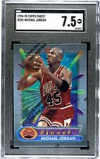 1994-95 Toops Finest #331 Michael Jordan  SGC 7.5