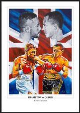 Boxing Frampton vs Quigg Art Print By Killian Art