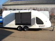Brian James RS5 Shuttle Enclosed Race Car Transporter Trailer