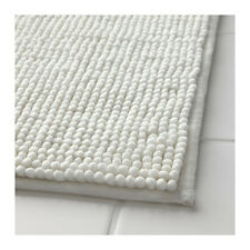 IKEA TOFTBO Non-Slip Microfibre Bathroom Bath Mat Bathmat Rug 60 x 90cm in White