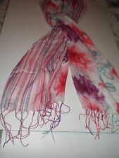LADY'S SPRING/summer MULTI COLORED SCARF