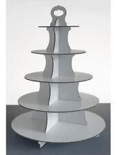 USA E GETTA Cupcake Stand 5 livello costituito da BIANCO in cartone per feste ed eventi del Regno Unito