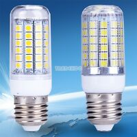 Chaud / Froid Blanc 15W E27 69 LED Maïs Ampoule Light 5050 SMD Lampe Bulb 220V
