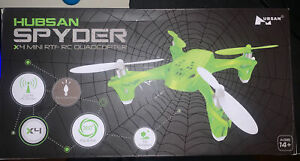 Hubsan SPYDER X4 H108 Mini Quadcopter Drone Adjustable Speed  Green