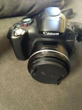 Canon PowerShot SX50 HS 12.1MP USED IN GOOD CONDITION Digital Camera - Black