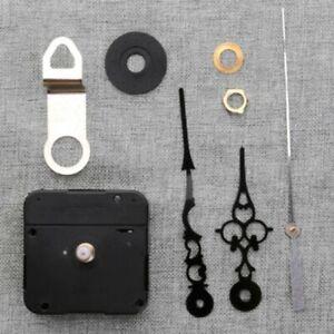 Remplacement Extra Long Quartz Horloge Mouvement Mécanisme 26mm Axe /& Métal