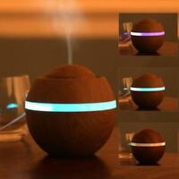 500ml Air Aroma Essential Oil Diffuser LED Ultrasonic Aromatherapy Humidifier