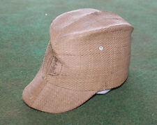 Original WW2 Japanese Enlisted Cap Last Ditch Late War Woven Billed Hat