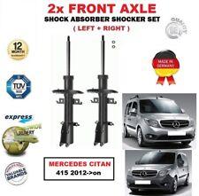 für Mercedes Citan 415 2012- > nach 2 x VORNE LINKS+rechts Stoßdämpfer