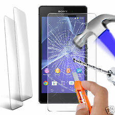 Twin Pack - Genuine Tempered Glass Screen Protector for Sony Xperia Z2