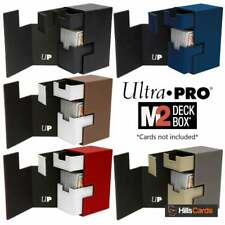 Ultra Pro M2.1 Deck Box | Choose Colour | Holds 75 Trading Cards Storage Case