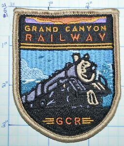 GRAND CANYON RAILWAY GCR WILLIAMS ARIZONA HERITAGE RAILROAD SOUVENIR PATCH