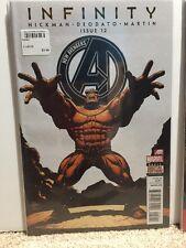 New Avengers #12 Hickman Deodato Infinity Comic Book