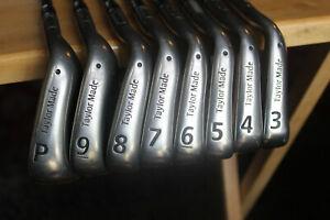 TAYLOR MADE BURNER Midsize irons 3-PW orig Reg graphite Grips Speed FOAM FILLED!