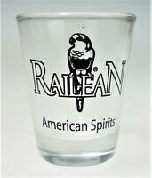 Railean Shot Glass Original Texas Rum Agave Spirits