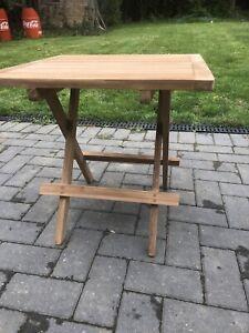 Square Folding Picnic Coffee Table 50cm High