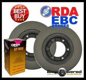 FRONT DISC BRAKE ROTORS+PADS Fits Ford Courier 2WD All-Models *256mm* 1985-1996