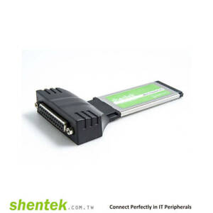 Shentek Parallel 1 Port 34mm ExpressCard
