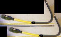 """2) Elster 79206 Anodeless Service Line Gas Riser 3/4"""" IPS x Permasert 30x26 +TWC"""