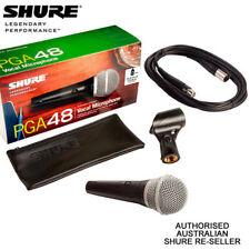 Shure PGA48XLR PG Alta PGA 48 Vocal Microphone inc 5m XLR XLR Cable