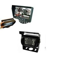 "Parksafe PS025C10 Car Van 7"" Quad Input Parking Monitor Reversing CCD Camera"