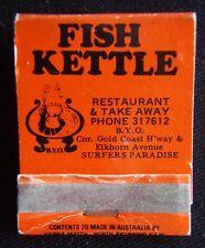 Fish Kettle Surfers Paradise 317612 Le Basin Broadbeach 398535 Matchbook (Mk3)