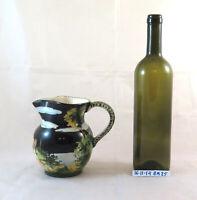 Kaffeekanne IN Keramik Marmaca Republik Von San Marino Handbemalt Vintage BM25