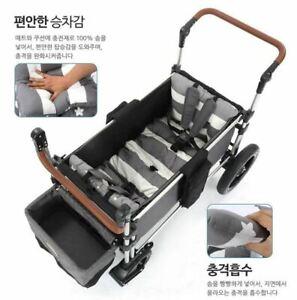 [Keenz] Wagon Moov Cushion Two-sided Mat Joy 100% Cotton Waterproof Gray