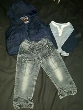 baby boys jeans top next body warmer bundle age 12-18  months