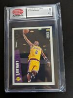 1996 Collector's Choice Kobe Bryant Lakers Team Set Rookie RC #LA2 SCD 9 Mint