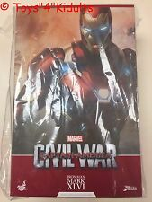 Hot Toys PPS 003 Iron Man Captain America Civil War 3 Mark 46 XLVI Power Pose