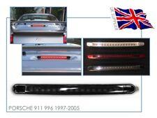 PORSCHE 911 996 - Rear LED 3rd Third Stop Brake Light Lamp - SMOKED LENS - UK