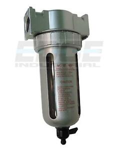 "1/2"" PARTICULATE FILTER WATER TRAP MOISTURE SEPARATOR COMPRESSED AIR COMPRESSOR"