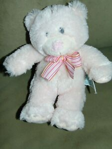 """Adorable Russ Berrie  Pink My First Teddy Bear plush 9"""""""