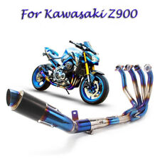 Z900 Full System Exhaust Muffler Tail Pipe Mid Front Header Pipe for Kawasaki