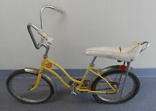 Original 1960's John Deere Banana Seat High Rise Handlebars Girls Bike