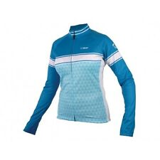 NETTI ELITE WOMENS OMNIUM CYCLING JERSEY - DARK BLUE / BLUE -  SIZE 12