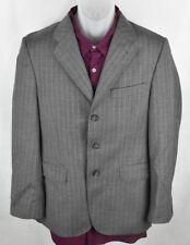 Express Design Studio Gray 3 button Pinstripe Sport Coat Men's size 38S