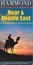 Map of Near & Middle East, by Hammond