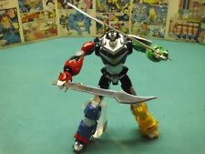 voltron figure w/ custom swords 12""