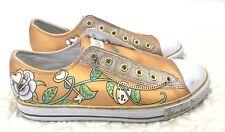 SKECHERS  Women's Size 8.5M Gold Sneakers
