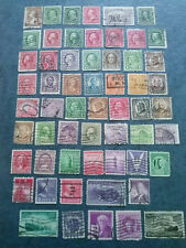 US STAMPS  -58 OLD STAMPS  USED ALL Different