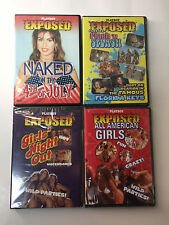 PLAYBOY'S  EXPOSED 4 Pack DVD NEW Adult Entertainment NC-17 Sealed