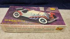 Vintage Lindberg 1929 Mercedes Benz SSK  Plastic Model Kit 1:24 Scale Boxed