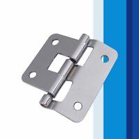 Stainless Steel Detachable Cabinet Drawer Cupboard Wooden box Door Hinge Q