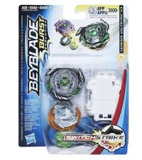 Hasbro Beyblade Burst Evolution Switch Strike Black Genesis Valtryek V3 Stamina