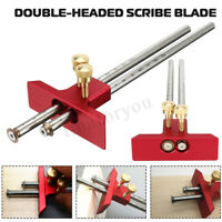 Adjustable Aluminum Alloy Woodworking Marking Gauge Wood Scribe Mortise DIY